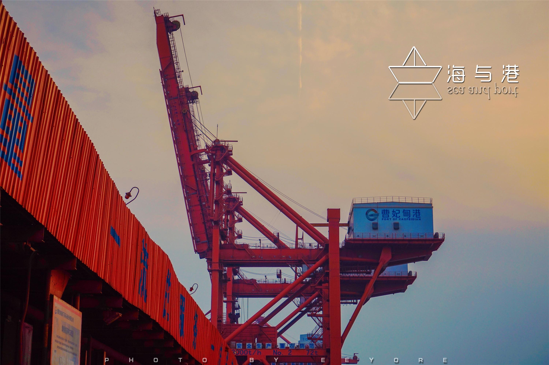 曹妃甸码头,海与港的情缘,船与港的爱恋