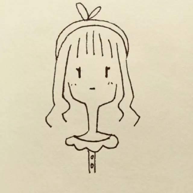 插画:情侣头像,帮助单身狗早日脱单 手绘人物插画,简单又漂亮,还可以