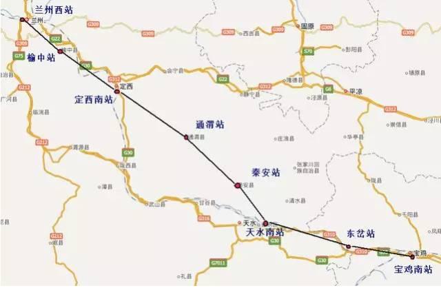宝兰高铁预计7月1日全线开通!西安人以后去这些地方均不到3小时!