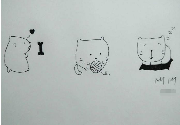 学会画萌萌哒的小动物