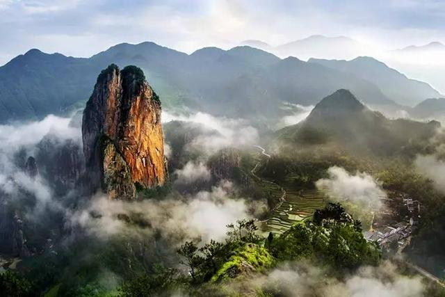 中国五大最美山水画廊都在这里了,自驾怡情都适合,选一条出发!