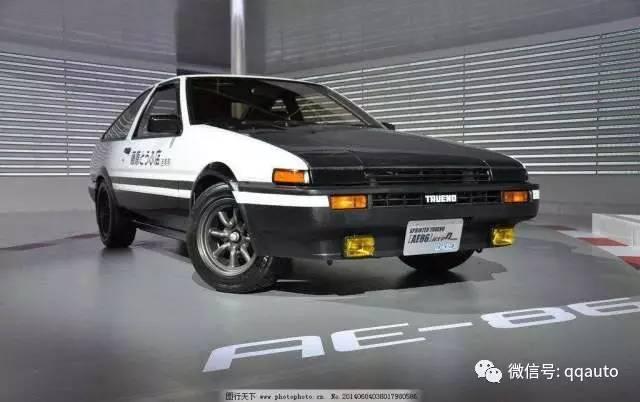主角:丰田AE86   每天清晨都有 V8发动机,最大输出功率由原来