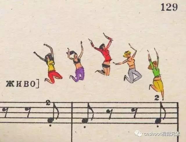 跃然于五线谱上的俄罗斯音乐小插图