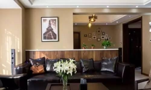 客厅隔断墙效果图,客厅与卧室隔断墙样式分析