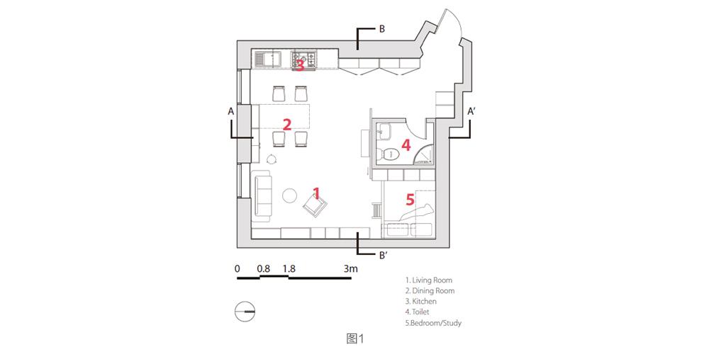 室内设计留学|室内设计作品集中内容详述(六)家具设计高研班图片