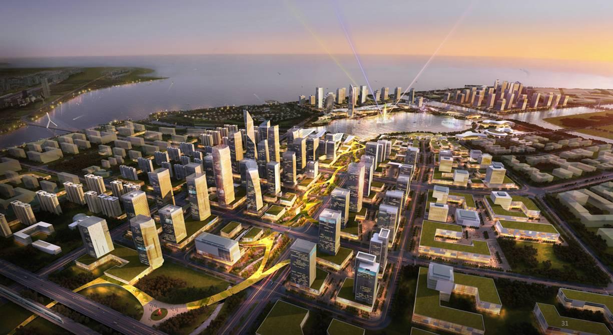 大连城市副中心规划图