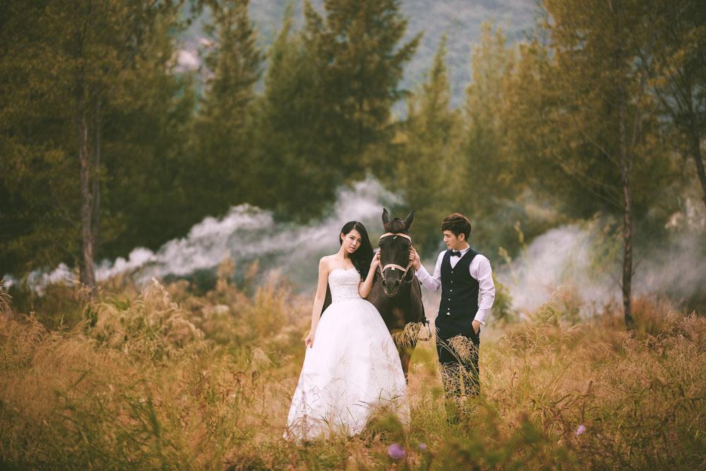 一个人拍婚纱照不吉利_最不吉利的印堂面相