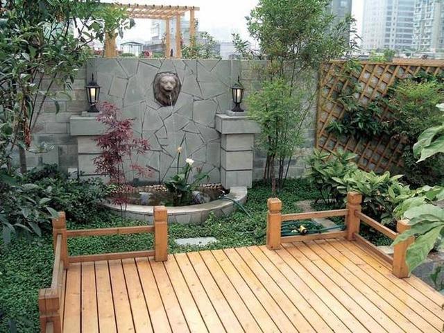 7套花园式别墅庭院设计小实景