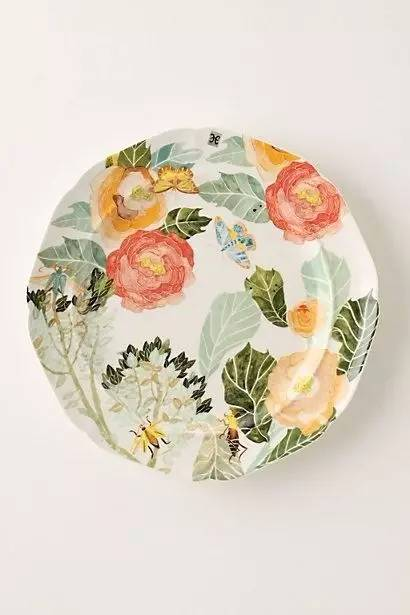 画在盘子上的画 自然万物尽收盘底