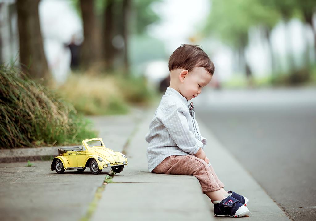 给宝宝拍照片的小技巧