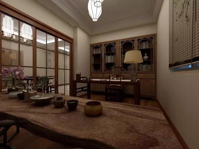 西安装修老人房,父亲节最「孝顺」的中式案例图片