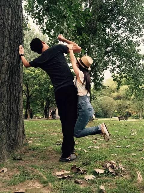 1米5女生嫁给1米9男生是什么体验?爱情没有相不相配,只有想不想爱!