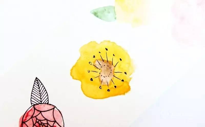 零基础水彩手绘教程:7种简单而不同的水彩花朵画法