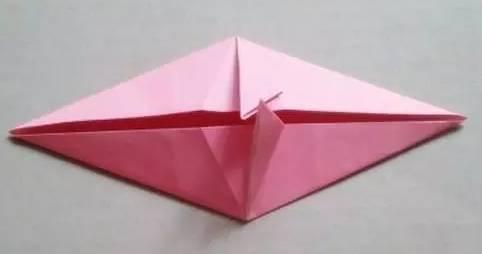 折纸蝴蝶的步骤 和图解 图解 图解