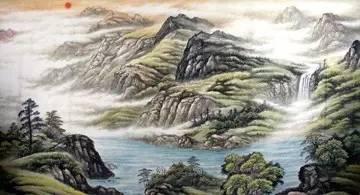 品诗 坐看黑云衔猛雨,喷洒前山此独晴