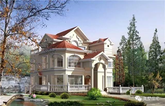 大胆创别墅才会大栋_10套30万可以建好3层农村别墅图纸