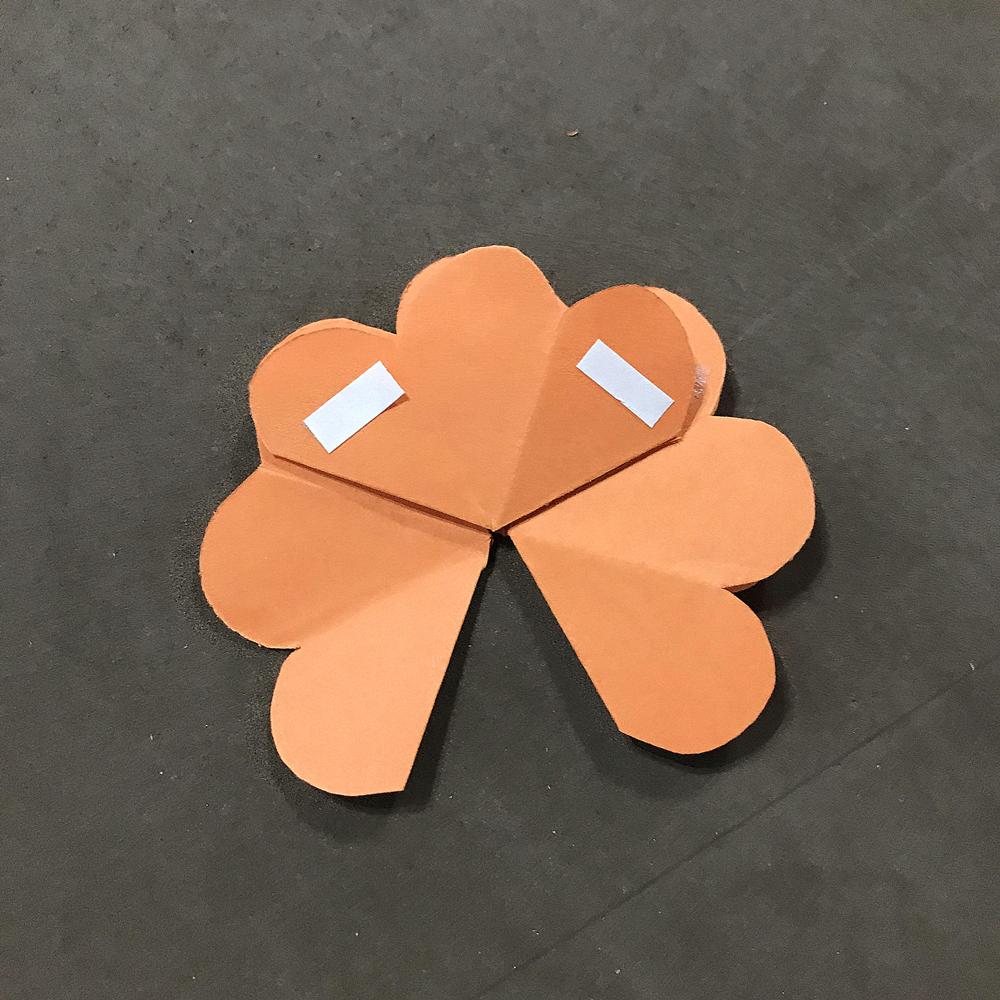 父亲节手工小礼物,3d立体花朵贺卡(附视频)图片