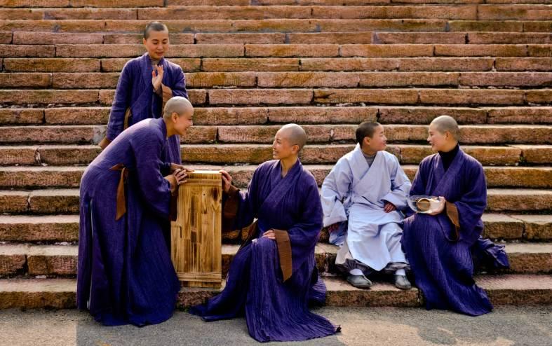 声 全国唯一的僧人禅乐团竟在红安天台寺