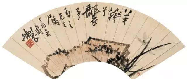 潘天寿诗意小品30幅,情趣盎然