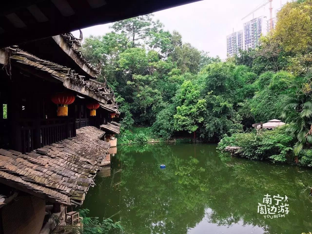 南宁市区隐藏了一片壮族山水民居,地铁直达却鲜为人知,神仙来了都不想走!