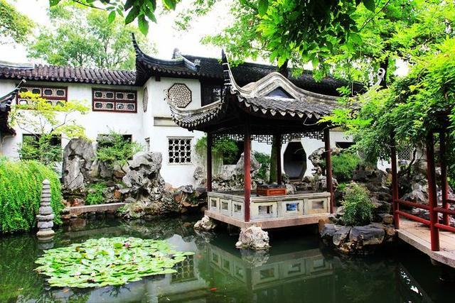 7个苏州园林式别墅庭院设计实景借鉴图片