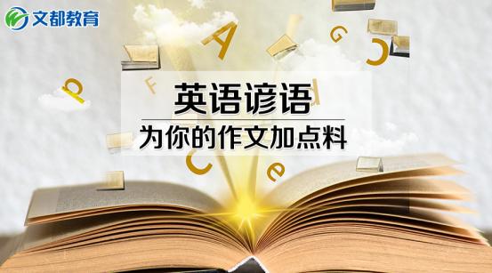 中小学:中考英语不用愁,这些谚语给你作文加点料
