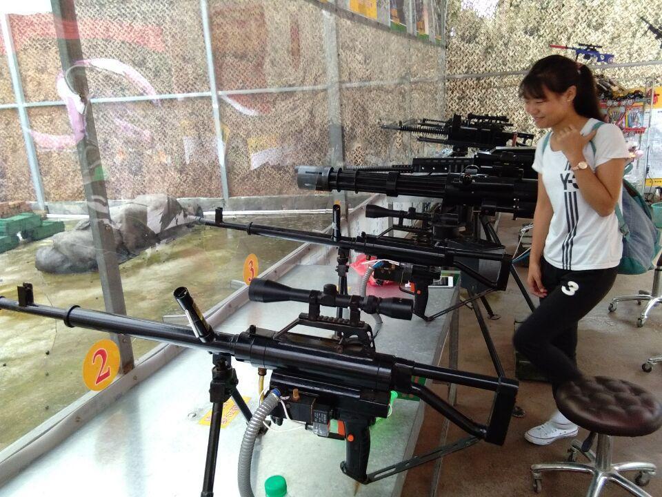 赣州森林动物园这个大口径汽枪射击游戏违法吗?