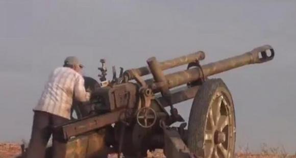 二战德国105mm榴弹炮