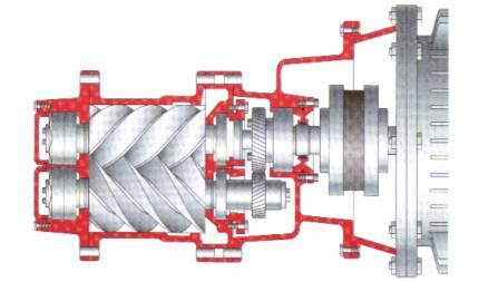 空压机螺杆式