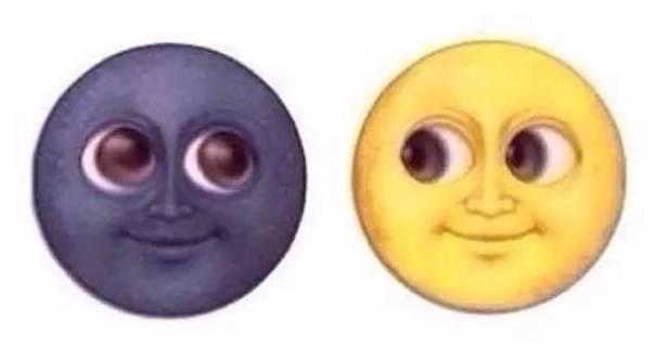 """放弃这一不切实际的幻想吧 不要以为emoji有""""月球黑脸""""表情包 月球上图片"""