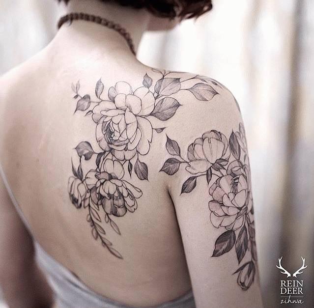 【纹身到底纹什么样】左青龙右白虎?不,时髦人的tattoo明明是这样的!图片