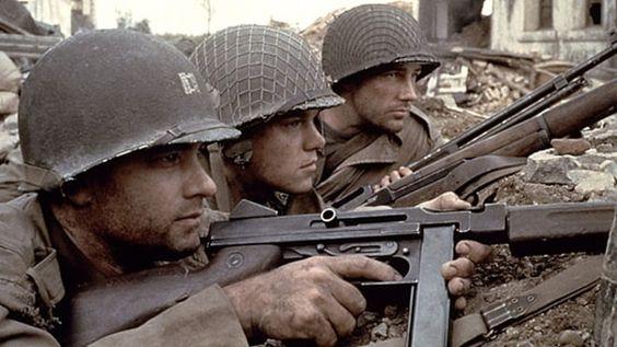 """还记得《拯救大兵瑞恩》中米勒上尉的那把M1A1""""汤姆森""""冲锋枪吗?"""