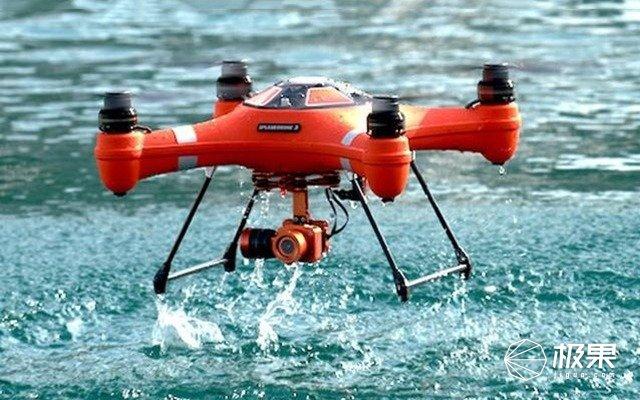 能下水堪比小潜艇的无人机!上天入水拍4K 科技资讯 第2张