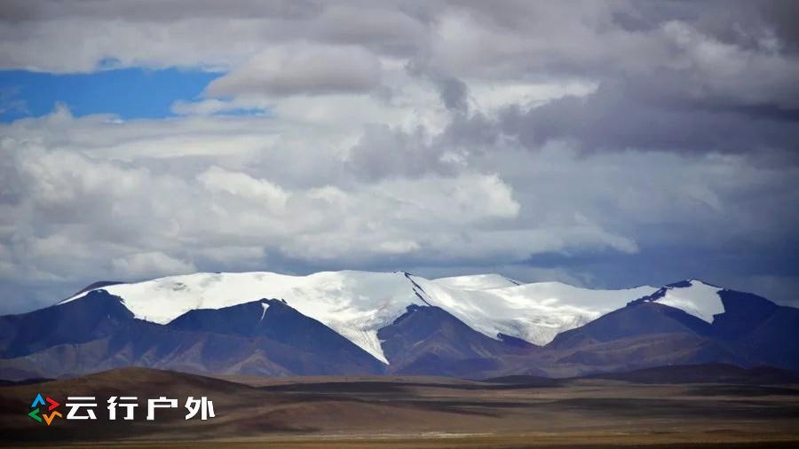 西藏阿里大北线绝美风光行-第三级普诺冈日冰川