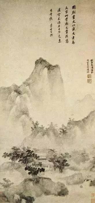 中国山水画最高峰:明代山水100幅集赏