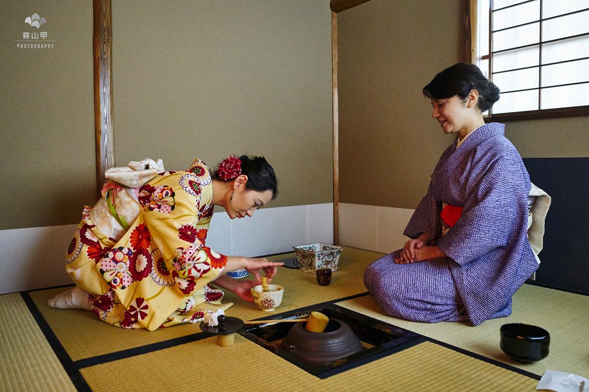 东京银座,一站式体验,最日本灵魂的和服与茶道