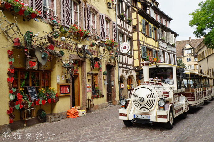 科尔马,世界最美小镇,张张都是明信片大片!