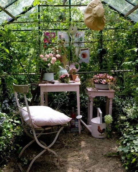 想有一个院子,陪你种种花,画画画