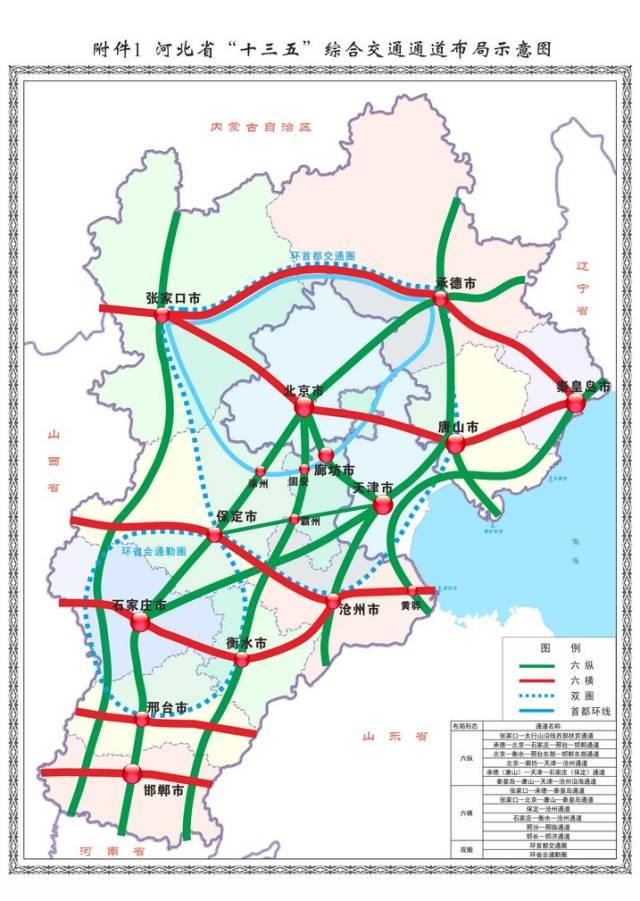 秦皇岛市规划图