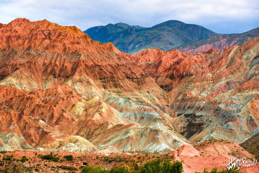 青藏高原上的绝美画卷、贵德国家地质公园