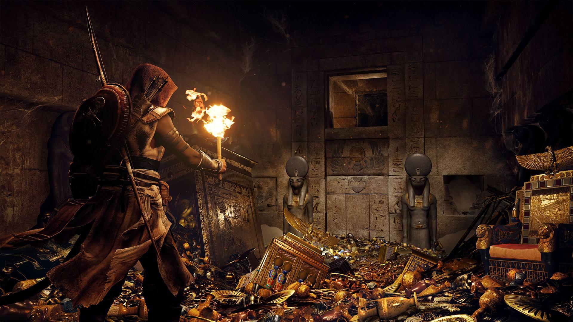 刺客信条 起源 战斗详解 超过160件武器