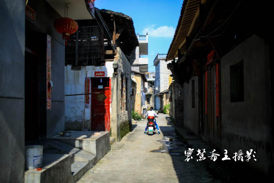 三清山下的那条临湖老街,饶北河畔的古朴典雅