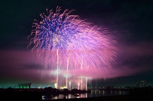 2017东京最全花火大会时间表,不可错过的夏季盛宴