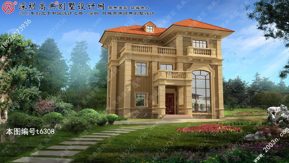 豪华农村别墅设计施工图纸首层147平方米