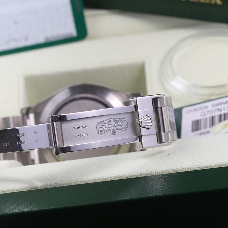 劳力士116506铂金冰蓝面迪通拿自动机械价格图片