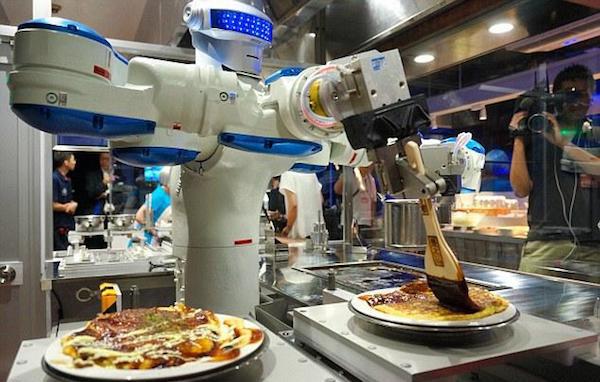 机器人还会做饭图片