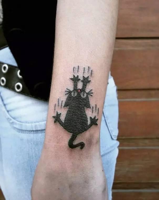 猫奴必备!敢不敢把你家主子纹身上!