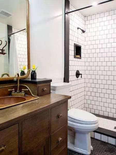 4平方、6平方、8平方的卫生间分别甜甜圈字体设计图片