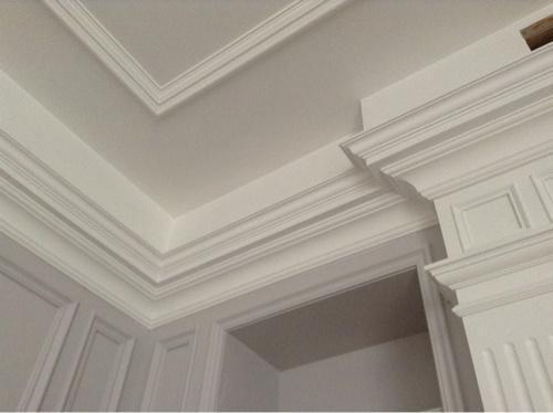 石膏线做吊顶可以如此漂亮!