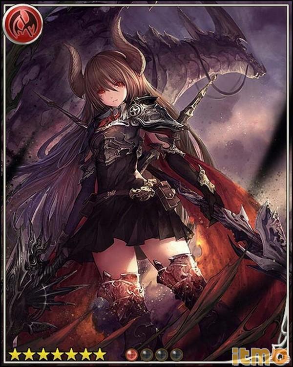 影之诗角色特辑—黑龙骑士法露特美图图片